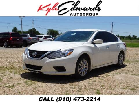 2018 Nissan Altima 2.5 S for sale at Kyle Edwards Auto Group in Checotah OK