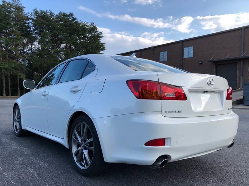 2008 lexus is 350 4dr sedan in norcross ga - william d auto sales