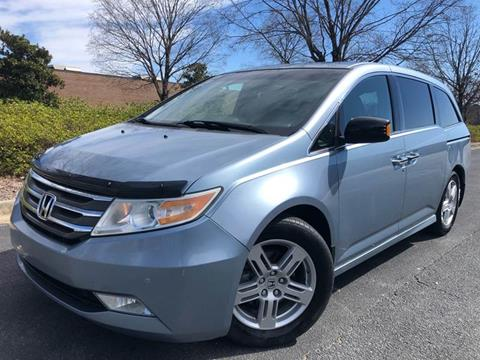 2011 Honda Odyssey for sale at William D Auto Sales in Norcross GA