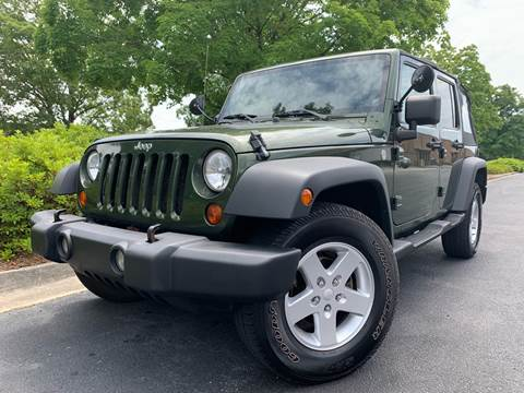2007 Jeep Wrangler Unlimited for sale in Norcross, GA