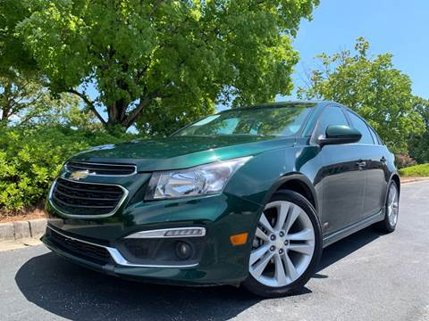 2015 Chevrolet Cruze for sale at William D Auto Sales in Norcross GA