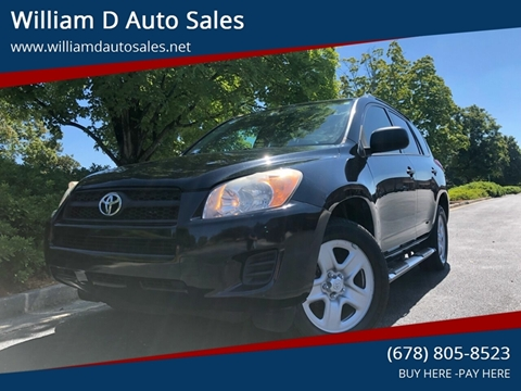 2012 Toyota RAV4 for sale at William D Auto Sales in Norcross GA