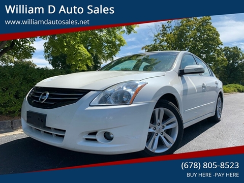 2010 Nissan Altima for sale at William D Auto Sales in Norcross GA