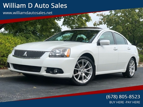 2012 Mitsubishi Galant for sale at William D Auto Sales in Norcross GA
