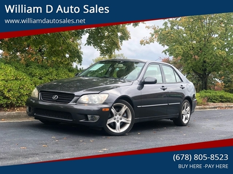 Buy Here Pay Here Greenville Nc >> 2005 Lexus Is 300 For Sale In Norcross Ga