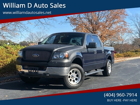 William D Auto Sales Norcross Ga Inventory Listings