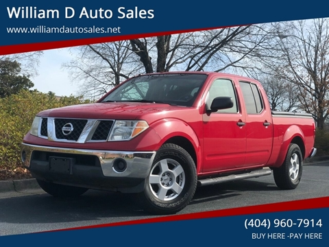 2007 Nissan Frontier for sale at William D Auto Sales in Norcross GA