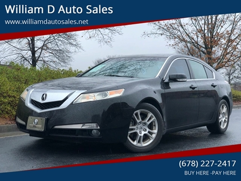 2010 Acura TL for sale at William D Auto Sales in Norcross GA