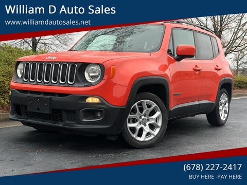 2015 Jeep Renegade for sale at William D Auto Sales in Norcross GA