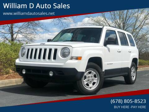 2014 Jeep Patriot for sale at William D Auto Sales in Norcross GA