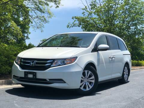 2014 Honda Odyssey for sale at William D Auto Sales in Norcross GA