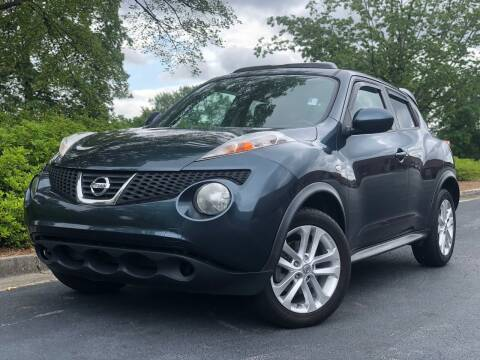 2012 Nissan JUKE for sale at William D Auto Sales in Norcross GA