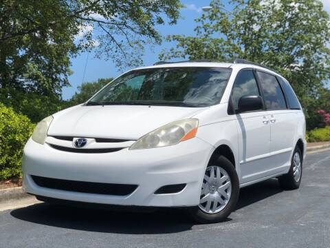 2008 Toyota Sienna for sale at William D Auto Sales in Norcross GA