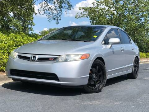 2008 Honda Civic for sale at William D Auto Sales in Norcross GA