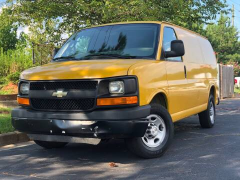 2016 Chevrolet Express Cargo for sale at William D Auto Sales in Norcross GA