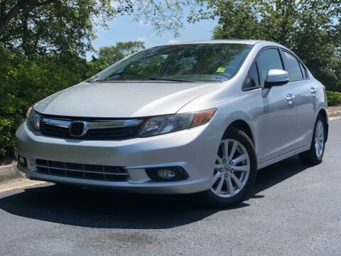 2012 Honda Civic for sale at William D Auto Sales in Norcross GA
