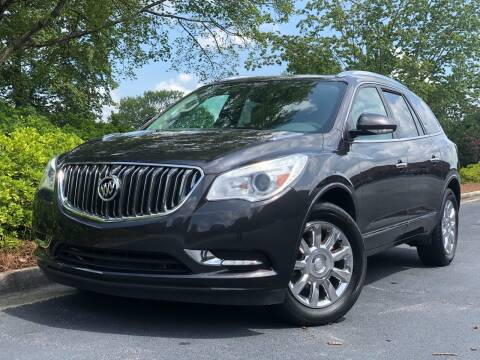 2015 Buick Enclave for sale at William D Auto Sales in Norcross GA