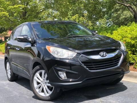 2013 Hyundai Tucson for sale at William D Auto Sales in Norcross GA