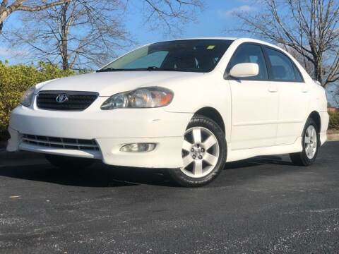 2007 Toyota Corolla for sale at William D Auto Sales in Norcross GA