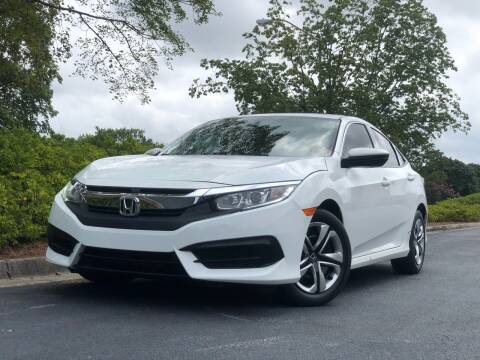 2016 Honda Civic for sale at William D Auto Sales in Norcross GA