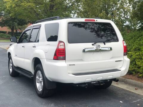 2007 Toyota 4Runner for sale at William D Auto Sales in Norcross GA