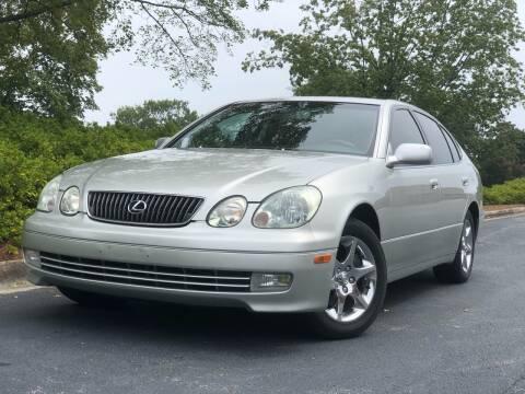 2001 Lexus GS 430 for sale at William D Auto Sales in Norcross GA