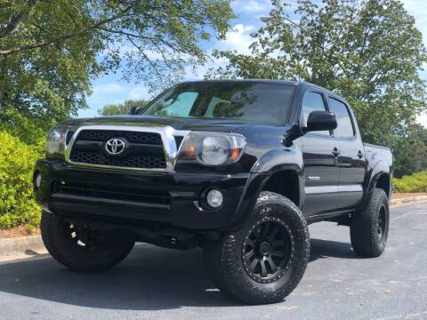 2011 Toyota Tacoma for sale at William D Auto Sales in Norcross GA