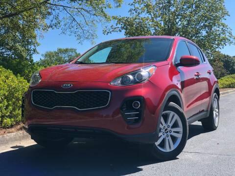 2017 Kia Sportage for sale at William D Auto Sales in Norcross GA