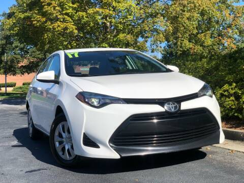 2017 Toyota Corolla for sale at William D Auto Sales in Norcross GA