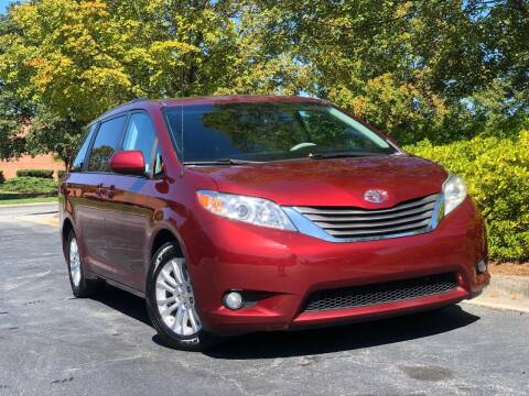 2012 Toyota Sienna for sale at William D Auto Sales in Norcross GA