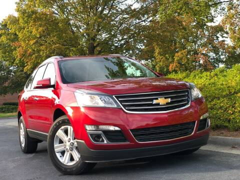 2014 Chevrolet Traverse for sale at William D Auto Sales in Norcross GA