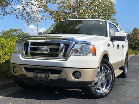 2007 Ford F-150 for sale at William D Auto Sales in Norcross GA
