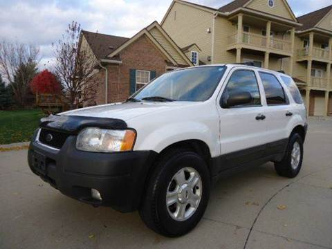 2004 Ford Escape for sale at Auto Experts in Shelby Township MI