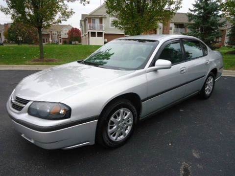 2003 Chevrolet Impala for sale at Auto Experts in Shelby Township MI