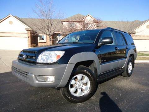 2003 Toyota 4Runner for sale at Auto Experts in Shelby Township MI