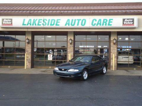 1996 Ford Mustang for sale at Auto Experts in Shelby Township MI