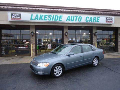 2002 Toyota Avalon for sale at Auto Experts in Shelby Township MI