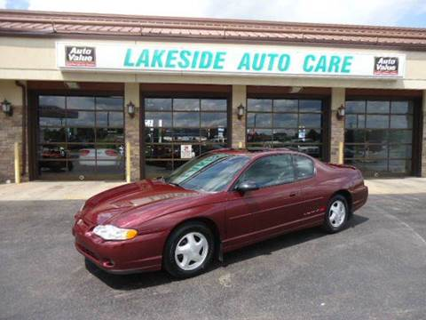 2000 Chevrolet Monte Carlo for sale at Auto Experts in Shelby Township MI