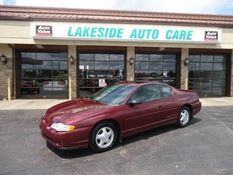 2000 Chevrolet Monte Carlo for sale at Auto Experts in Utica MI