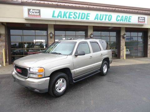 2001 GMC Yukon for sale at Auto Experts in Shelby Township MI
