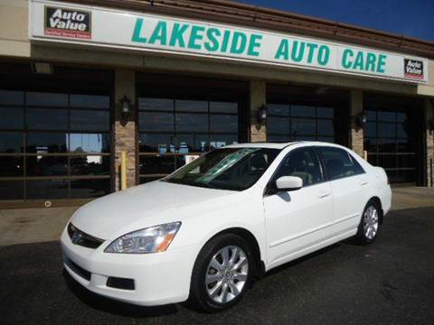 2007 Honda Accord for sale at Auto Experts in Shelby Township MI
