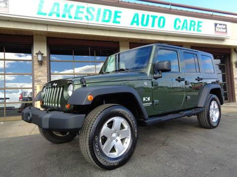 2007 Jeep Wrangler Unlimited for sale at Auto Experts in Shelby Township MI