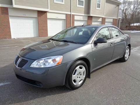 2008 Pontiac G6 for sale at Auto Experts in Shelby Township MI
