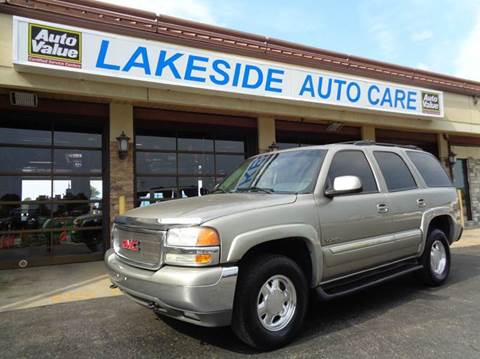 2003 GMC Yukon for sale at Auto Experts in Shelby Township MI