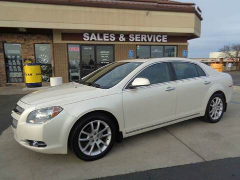 2010 Chevrolet Malibu for sale at Auto Experts in Shelby Township MI