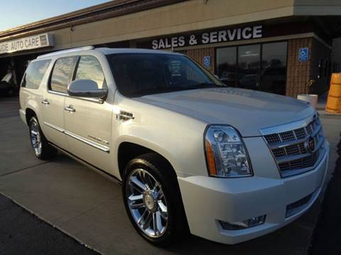 2011 Cadillac Escalade ESV for sale at Auto Experts in Shelby Township MI