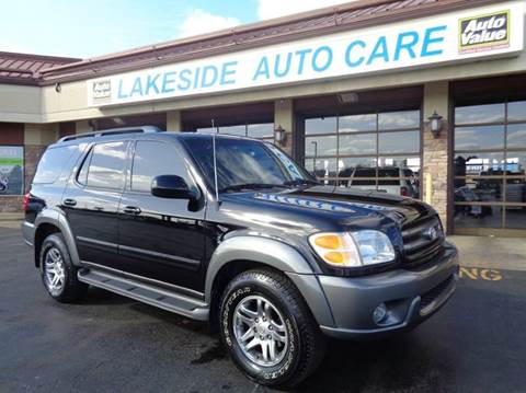 2004 Toyota Sequoia for sale at Auto Experts in Shelby Township MI