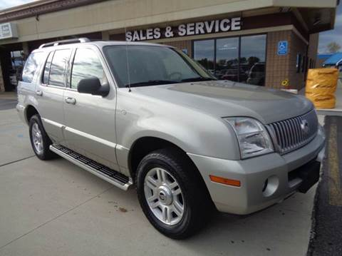 2003 Mercury Mountaineer for sale at Auto Experts in Shelby Township MI