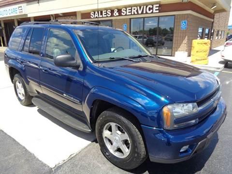 2004 Chevrolet TrailBlazer for sale at Auto Experts in Utica MI