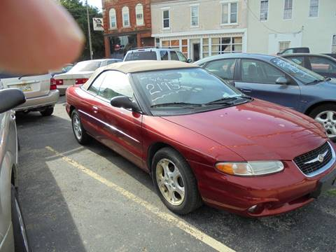 2000 Chrysler Sebring for sale in Burlington, WI